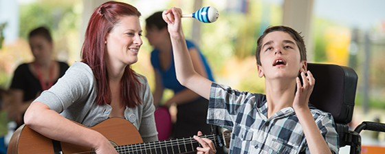 Music and maraca - Very Special Kids 560