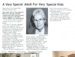 A very special adult 1985