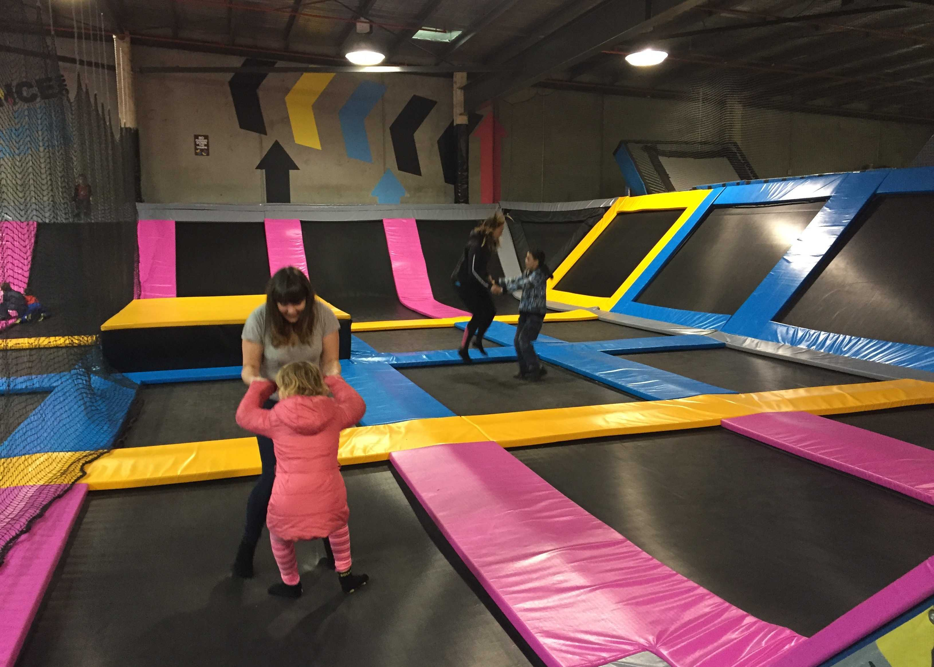 Fun at BOUNCE INC