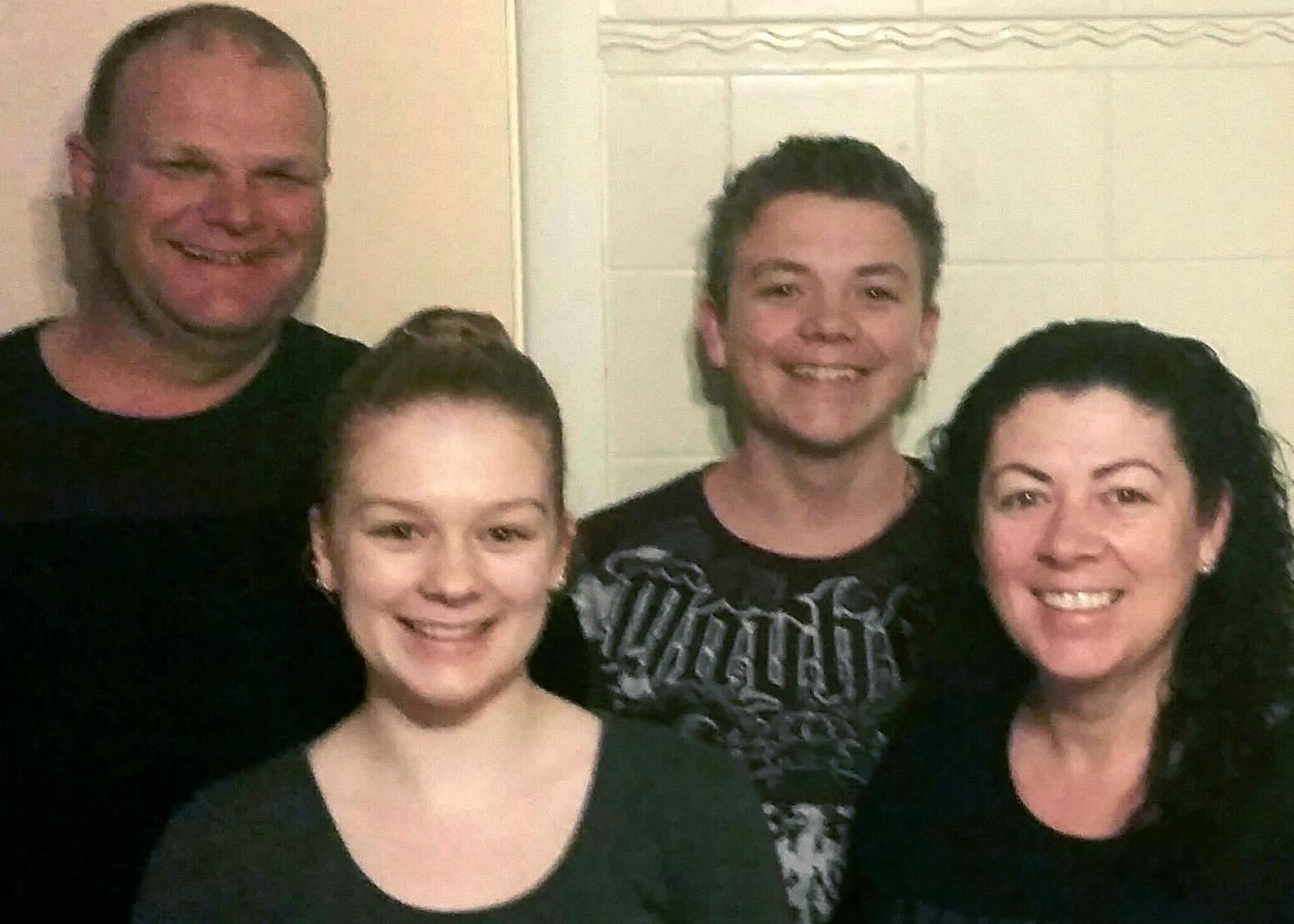 Hubbard family - Hume 5x7