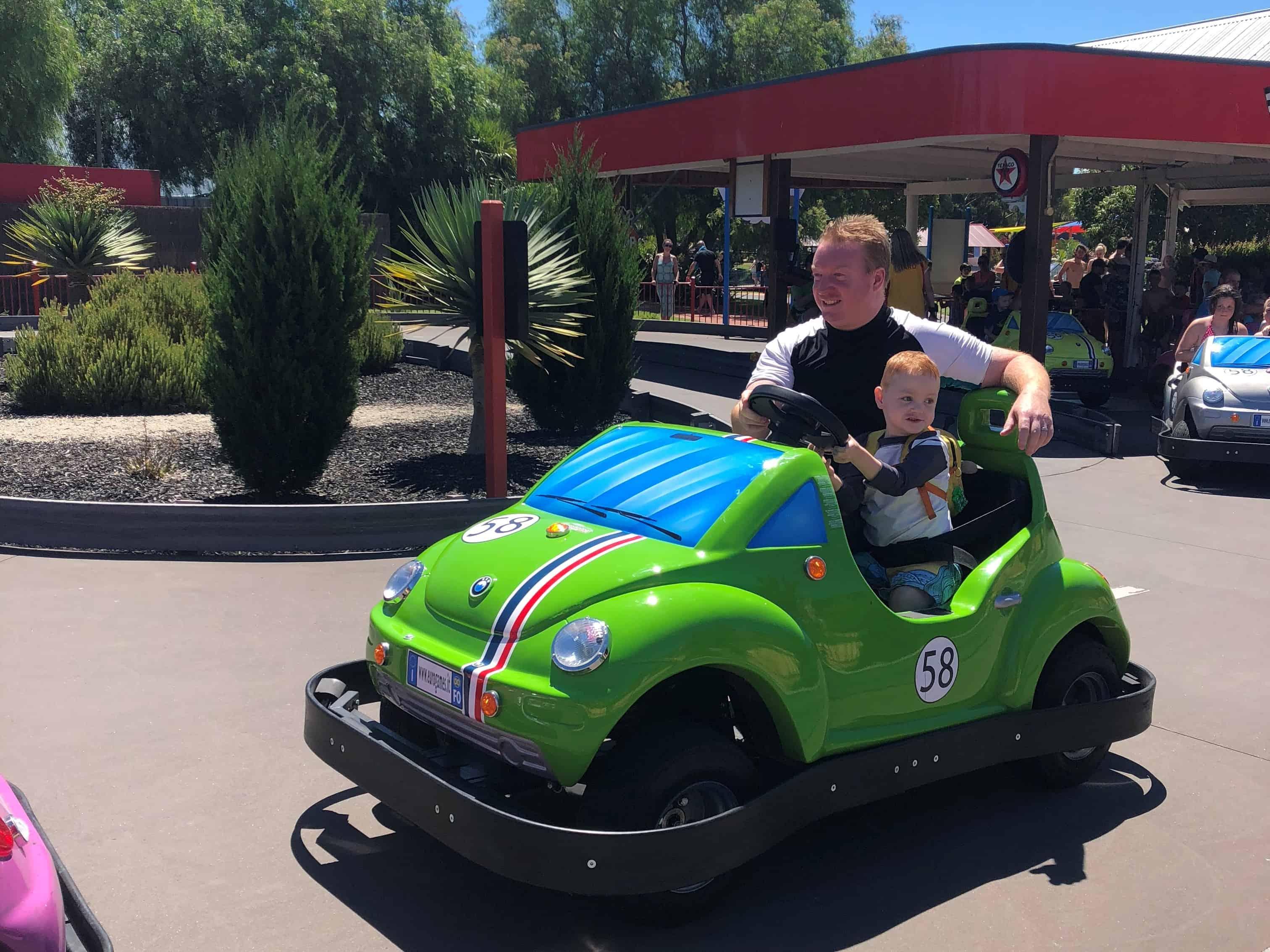 Harry's family dodgem cars (2)